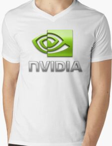 Nvidia Mens V-Neck T-Shirt