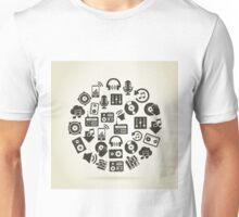 Musical sphere2 Unisex T-Shirt