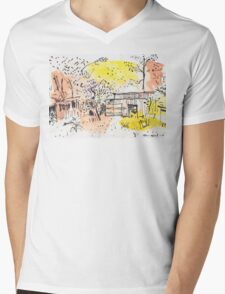 The Old Shed Out the Back Mens V-Neck T-Shirt