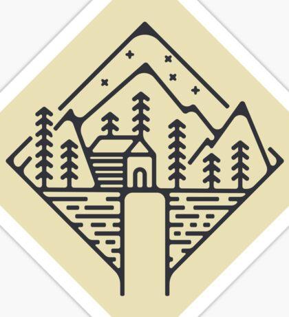 Cabin  Sticker