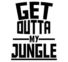 Get Outta My Jungle Photographic Print