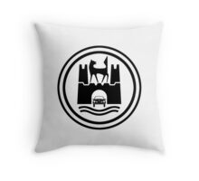 Wolfsburg (Clean) Throw Pillow