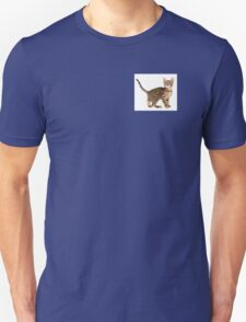 Cute cat nacked  Unisex T-Shirt