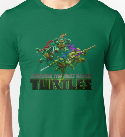 Teenage Mutant Ninja Turtles Cartoon Unisex T-Shirt