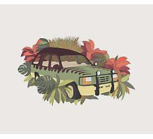 Jurassic Car Photographic Print