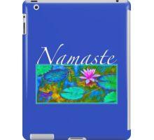 Yoga Lotust Namaste iPad Case/Skin