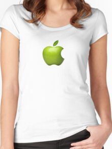 Green Apple Women's Fitted Scoop T-Shirt