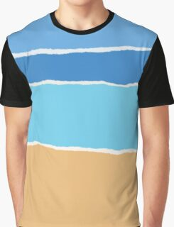 Abstract beach, sea and sky  Graphic T-Shirt