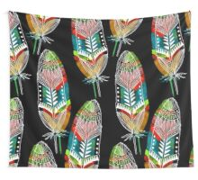 Feathers With A Spirit Wall Tapestry