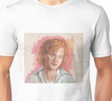 Dana Scully's sceptic face Unisex T-Shirt
