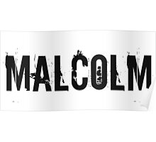 Malcolm Poster