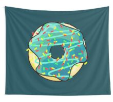 Space Donut Wall Tapestry