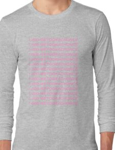 One Direction // Chonce x Hotline Bling Long Sleeve T-Shirt
