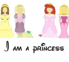 I'm a princess Sticker