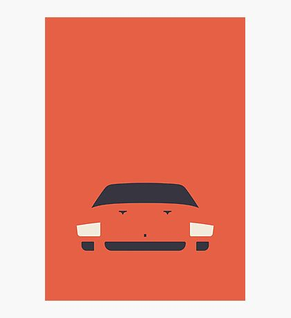 Ferrari F40 Minimal (Red) Photographic Print