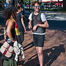Tourists by Werner Padarin
