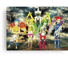 Pokémon + Shin Megami Tensei - Law Poster Canvas Print