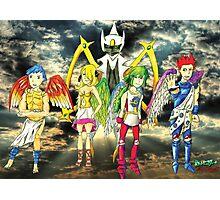Pokémon + Shin Megami Tensei - Law Poster Photographic Print