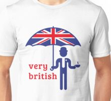Very British Gentleman Unisex T-Shirt