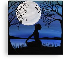 Finding inner piece Canvas Print