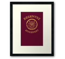 Rushmore Beekeepers Society Framed Print