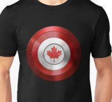CAPTAIN CANADA - Captain America inspired Canadian shield Unisex T-Shirt
