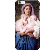 Charity (1859) By William Bouguereau iPhone Case/Skin