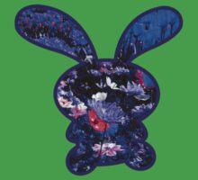 Flower Bunny Kids Tee