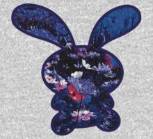 Flower Bunny One Piece - Long Sleeve