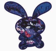 Flower Bunny Baby Tee