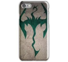 The skyrim doodle iPhone Case/Skin