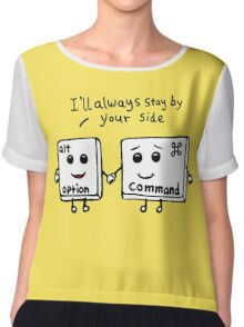 I'll always stay by your side Chiffon Top