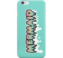 Pastel Goth Mermaid - Drippy Scales iPhone Case/Skin