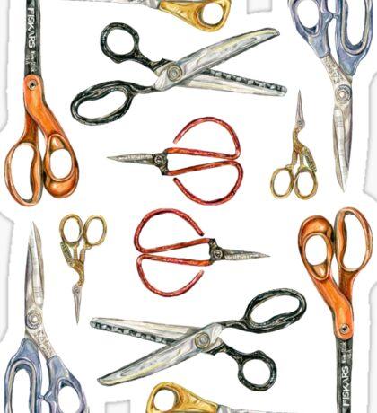 Scissors Collection Sticker