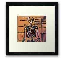 Rob's Skeleton Framed Print