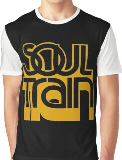 SOUL TRAIN (YELLOW) Graphic T-Shirt