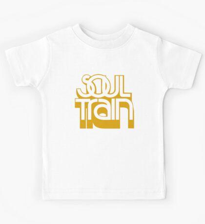 SOUL TRAIN (YELLOW) Kids Tee