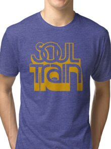SOUL TRAIN (YELLOW) Tri-blend T-Shirt