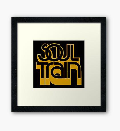SOUL TRAIN (YELLOW) Framed Print
