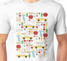New York City Pattern Unisex T-Shirt