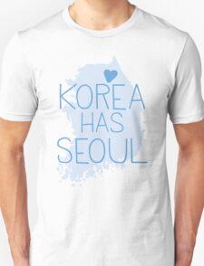 Korea has SEOUL Unisex T-Shirt
