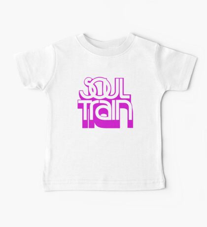 SOUL TRAIN (PURPLE) Baby Tee