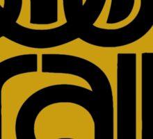 SOUL TRAIN (YELLOW) Sticker