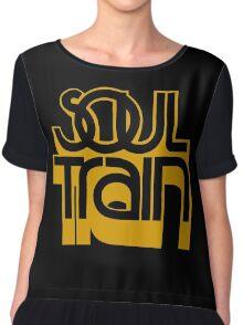 SOUL TRAIN (YELLOW) Chiffon Top