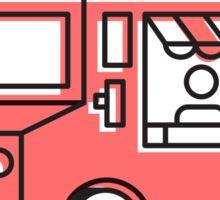 Food Trucks - Cola Sticker