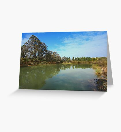 Mt. Jones Dam #2, Greenbushes, Western Australia Greeting Card