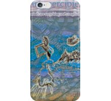 Being percipient iPhone Case/Skin