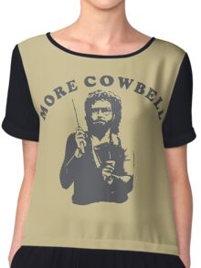 WILL FERRELL - MORE COWBELL Chiffon Top