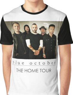 BLUE OCTOBER THE HOME TOUR Graphic T-Shirt