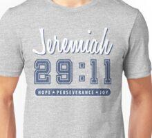 Jeremiah 29:11 Vintage Varsity Unisex T-Shirt